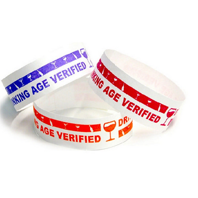 Picture of Tyvek Eziband Wristband - Drinking Age V