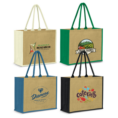 Picture of Modena Jute Tote Bag