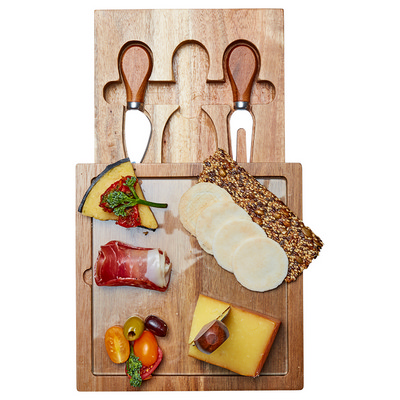 Picture of Braemar Glass Cheese Board & Knife Set