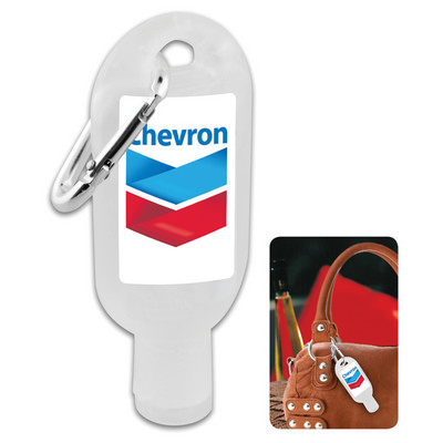 Picture of 30ml Hand Sanitiser Gel with Carabiner