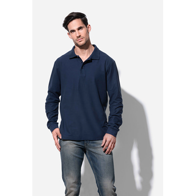 Picture of Mens Polo Long Sleeve