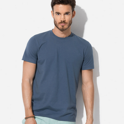 Picture of Mens James Organic Crew Neck