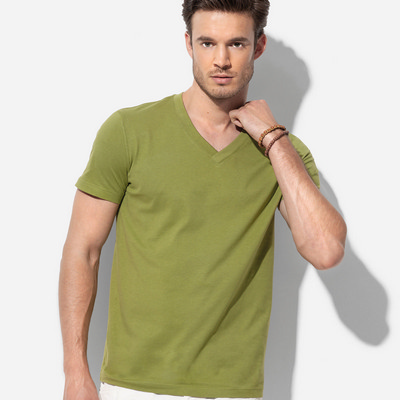 Picture of Mens James Organic V-neck
