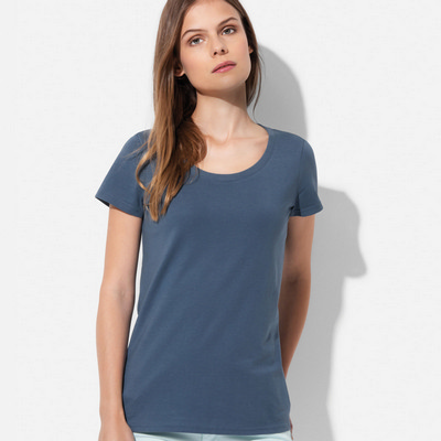 Picture of Womens Janet Organic Crew Neck