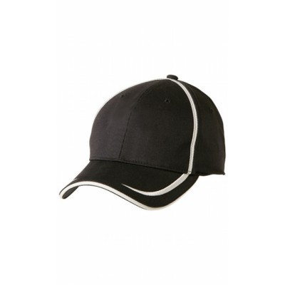 Picture of Premium Cotton Twill Contrast Trim Cap