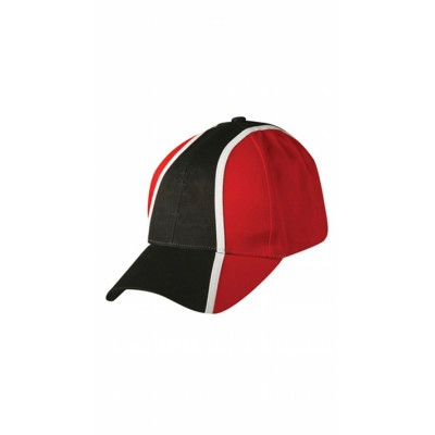 Picture of Heavy Brushed Cotton Tri-colour Baseball