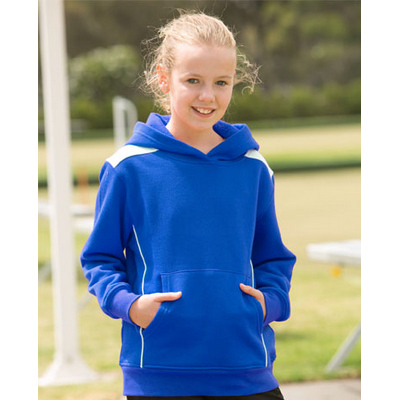 Picture of Kids Close Front Contrast Fleece Hoodie