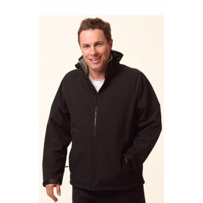 Picture of Mens Softshell Hooded Jacket