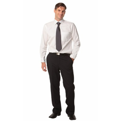 Picture of Mens Wool Blend Stretch Pants
