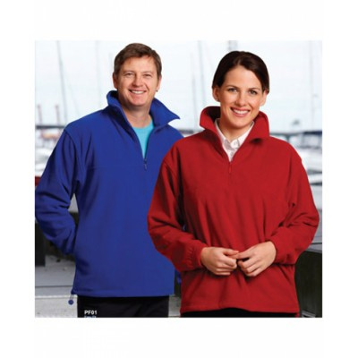 Picture of Adults Half Zip Polar Fleece Pullover