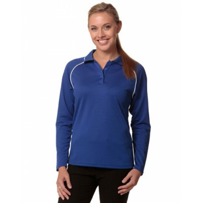 Picture of Ladies CoolDry Long Sleeve Contrast Colo