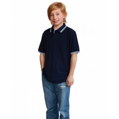 Picture of Kids TrueDry Pique Short Sleeve Polo