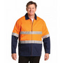 High Visibility Cotton Jacket With 3M Re