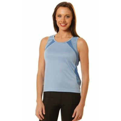 Picture of Ladies CoolDry Athletic Singlet
