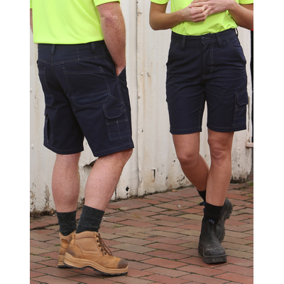 Picture of Unisex Cotton Canvas Cargo Shorts with C