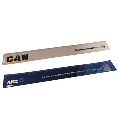 Picture of Ruler 400 micron plastic ruler CMYK