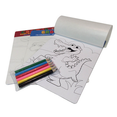 Picture of A5 colouring in magnet (Colour your own