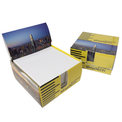 Picture of Memo paper in card memobox 1c (95x95x50m