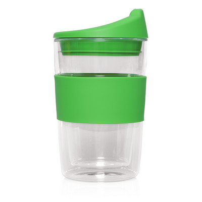 Picture of Eco Coffee Cup Glass Double Wall Cup2Go