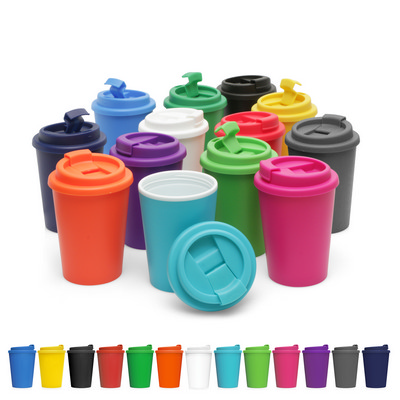 Picture of Eco Coffee Cup Plastic Double Wall Cup2G