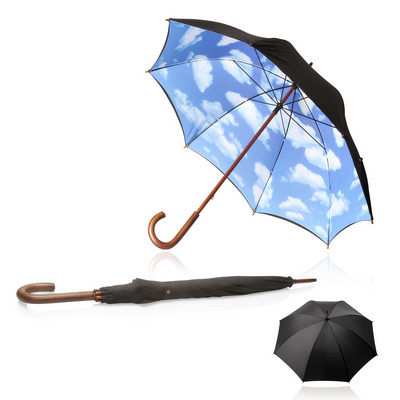 Picture of Umbrella 60cm Long Shelta Blue Sky