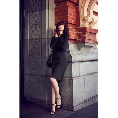 Picture of Womens Bandless Pencil Skirt