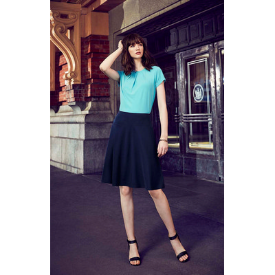 Picture of Womens Bandless Flared Skirt