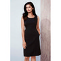 Womens Sleeveless Side Zip Dress