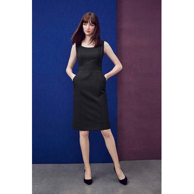 Picture of Womens Sleeveless Side Zip Dress