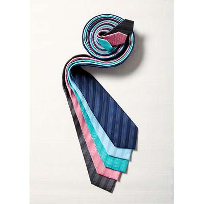 Picture of Mens Self Stripe Tie