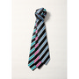 Mens Wide Contrast Stripe Tie
