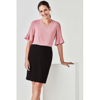 Picture of Aria Fluted Sleeve Blouse