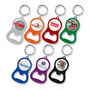 Chevron Bottle Opener Key Ring