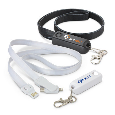 Picture of Artex 3-in-1 Charging Lanyard