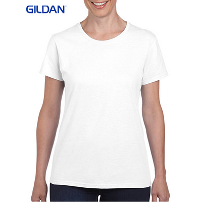 Picture of Gildan Heavy Cotton Ladies T-Shirt White