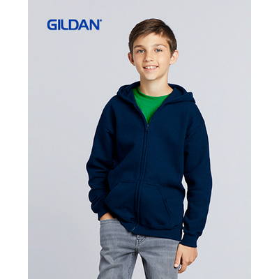 Picture of Gildan Heavy Blend Youth Full Zip Hooded