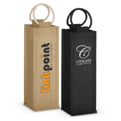 Picture of Napoli Jute Wine Carrier