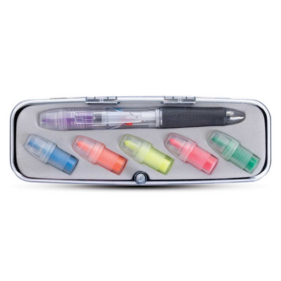 Picture of Tri-Color Pen and Highlighter Set