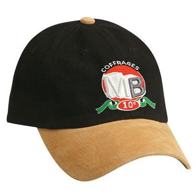 Picture of Unstructured Hbc Suede Peakcap