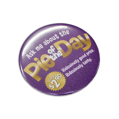 Picture of Button Badge Round - 75mm