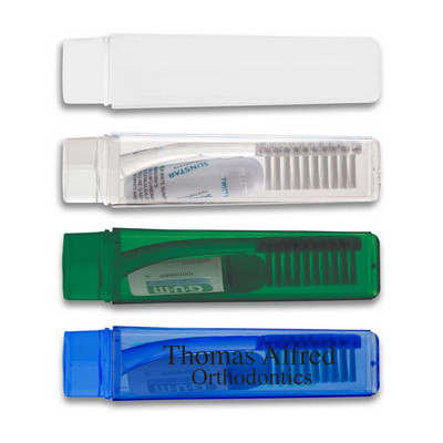 Picture of Travel Toothbrush and Toothpaste