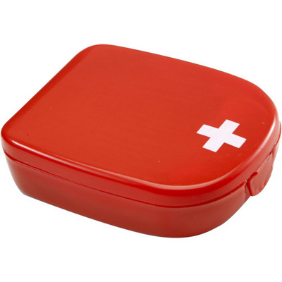 Picture of First aid kit in plastic case