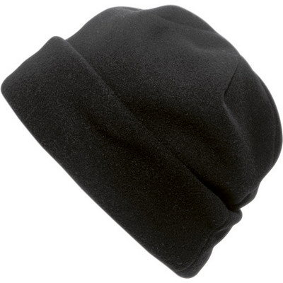 Picture of Polyester fleece beanie.