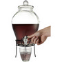 Glass 6,3 litre beverage dispenser