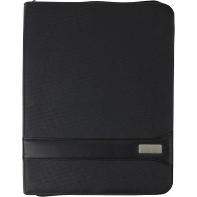 Picture of A4 PVC Zipped folder.