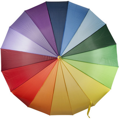 Picture of Manual polyester umbrella