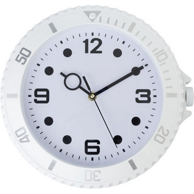 Picture of Plastic, modern wall clock