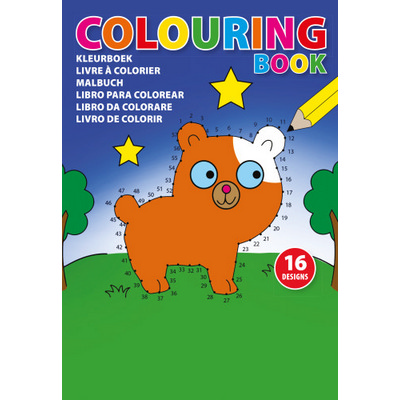 Picture of A5 Childrens colouring book.F