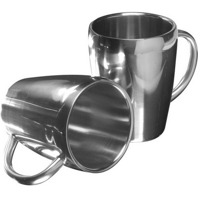Picture of Set of two steel mugs (200ml)
