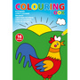 A4 Childrens colouring book.